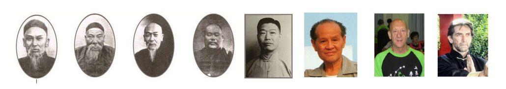 Wu Yongchunquan tai chi γενεαλογικό δέντρο