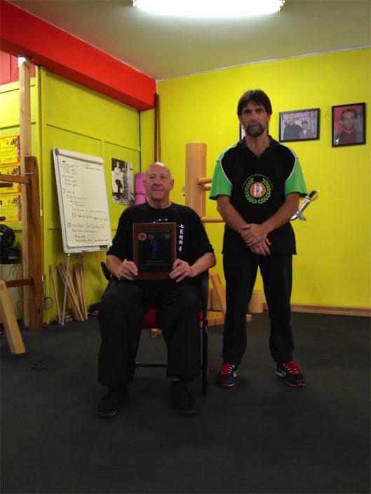 Master Derrek Frearson - Sifu Antonios Pantelias